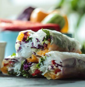 Leckere vegane Rolls