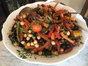 Salat vom Garten