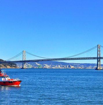 Die Bucht von San Francisco