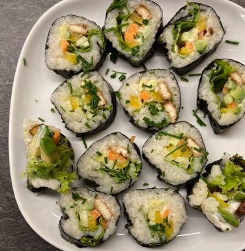 Veganes Sushi selbst gemacht