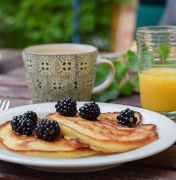 veganer brunch - pancakes
