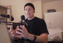 Daniel Felderer vom veganen Podcast Af Dialekt